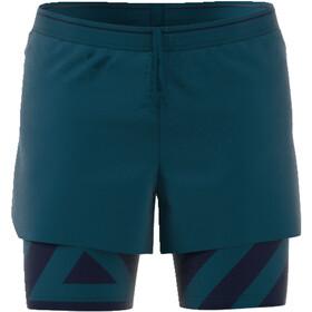 adidas TERREX Agravic 2In1 Shorts Men petrol night